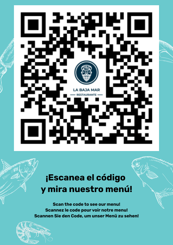 Scan the code to see our menu