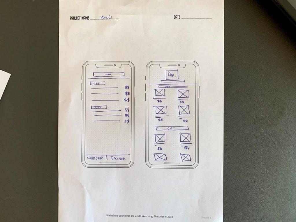 Ux designer Toni pareja Sketch